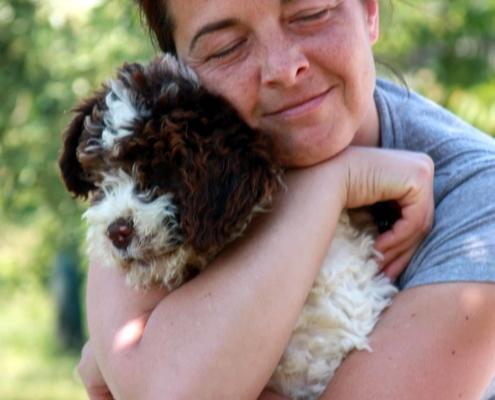 Martina e cucciolo spettacolo