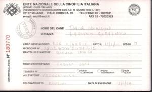 libretto qualifiche lagotto romagnolo